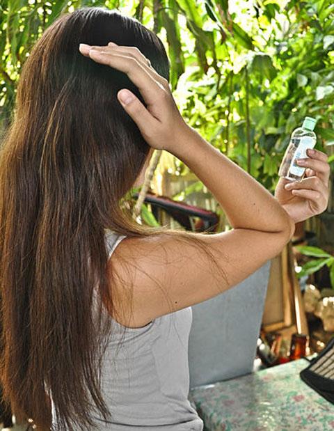 Mẹo chải tóc rối hiệu quả bằng lược 7