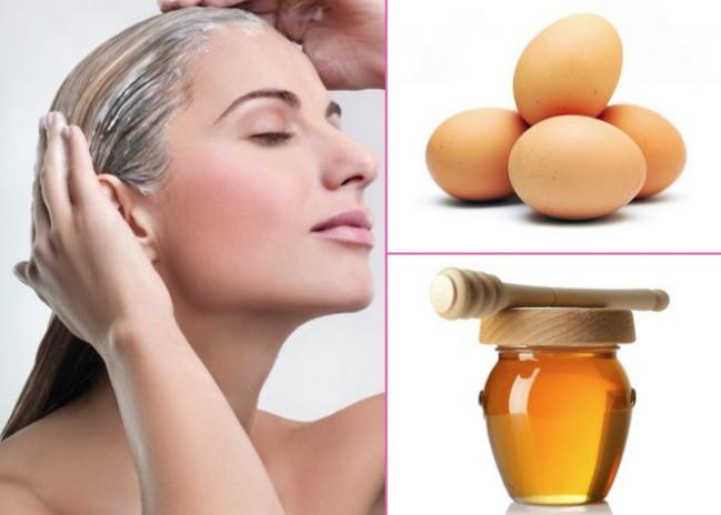 Chăm sóc mái tóc khô bằng mặt nạ mật ong 1