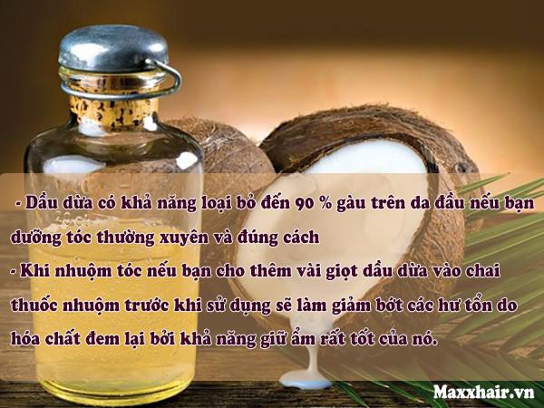 3. Một số lưu ý khi dưỡng tóc bằng dầu dừa 1