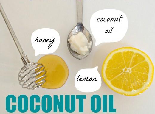 3, Kết hợp dầu dừa với các nguyên liệu thiên nhiên khác 1