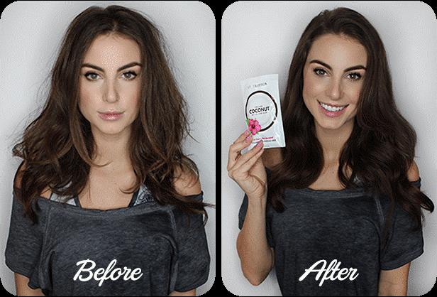 2, Sử dụng dầu dừa chăm sóc tóc hư tổn 1