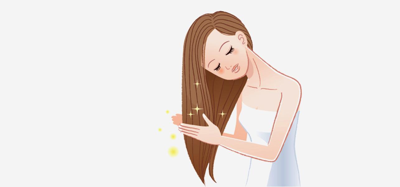 2, Chăm sóc tóc nhẹ nhàng 1
