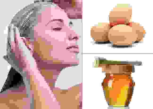 Mặt nạ lòng đỏ trứng và dầu ô liu 1