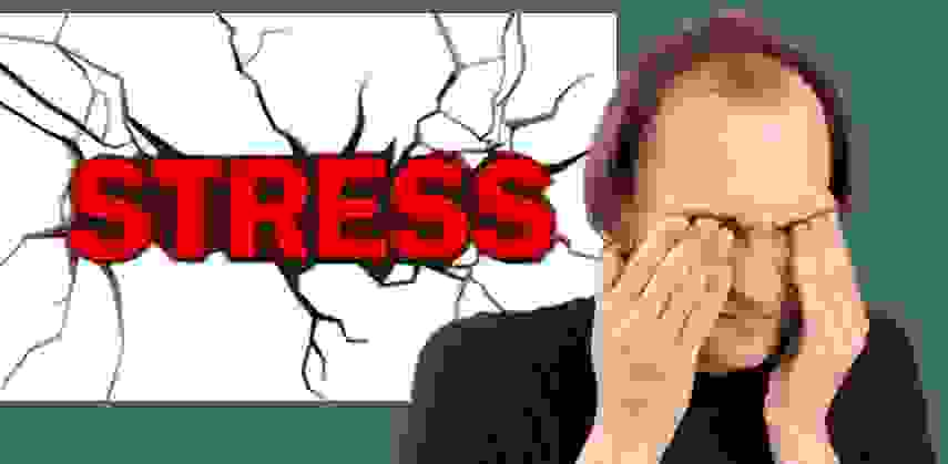 3. Nguyên nhân rụng tóc nhiều do căng thẳng kéo dài 1