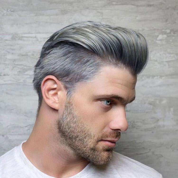2. Kiểu tóc pompadour 1