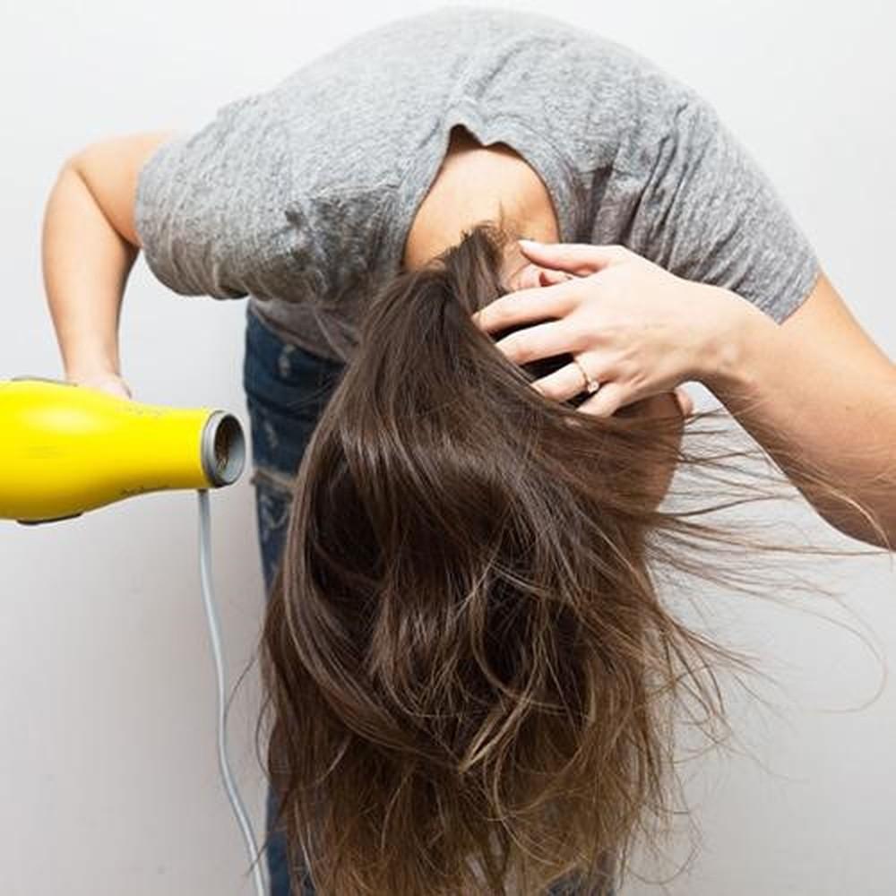 Sấy tóc đúng cách 1