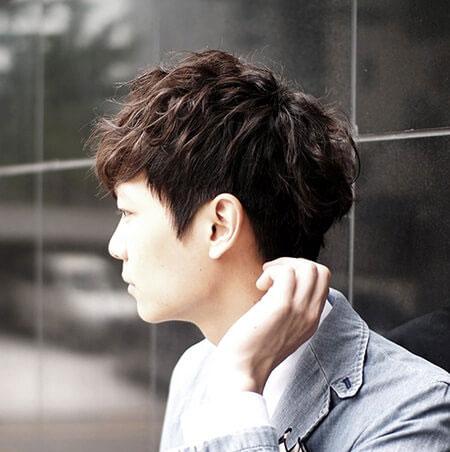 4. Kiểu tóc Moi cho nam mặt dài 1
