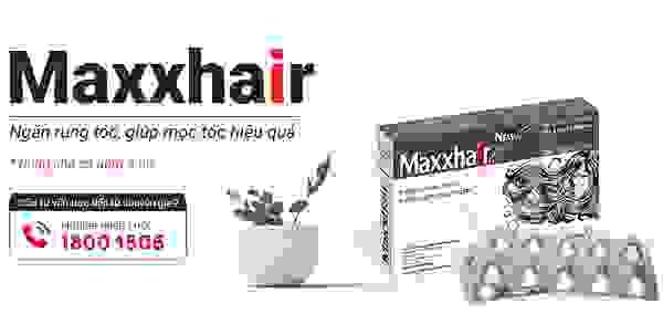 Viên uống Maxxhair - Mọc tóc nhanh, ngăn ngừa rụng tóc 1
