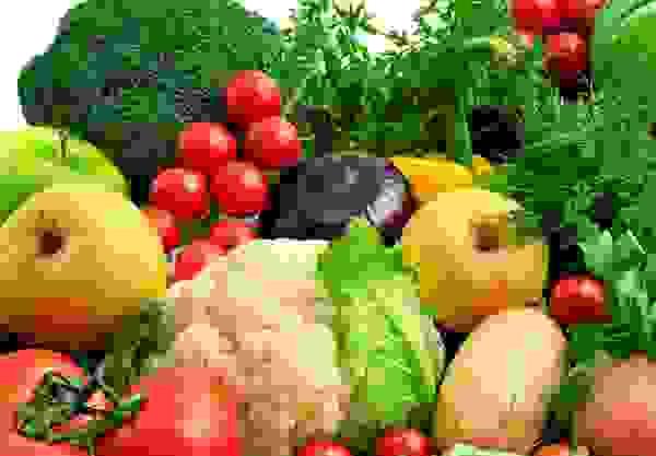 3. Rau củ quả và các loại trái cây 1