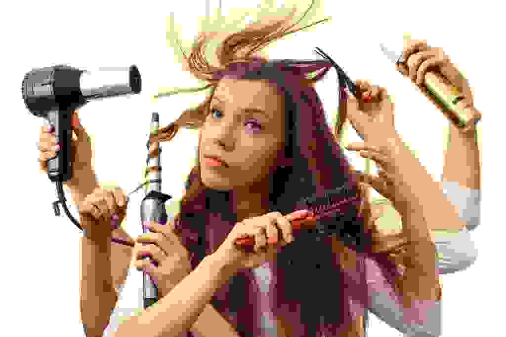 cách làm tóc chắc khỏe 2