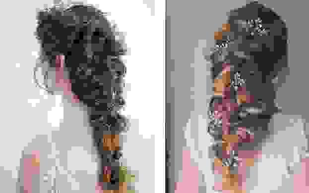 Những kiểu tóc cô dâu đẹp nhất 2018 12