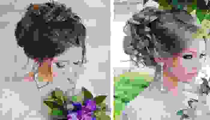Những kiểu tóc cô dâu đẹp nhất 2018 8