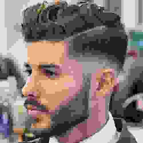 4. Mẫu tóc đẹp 2018 nam giới không thể bỏ qua mẫu tóc uốn 2